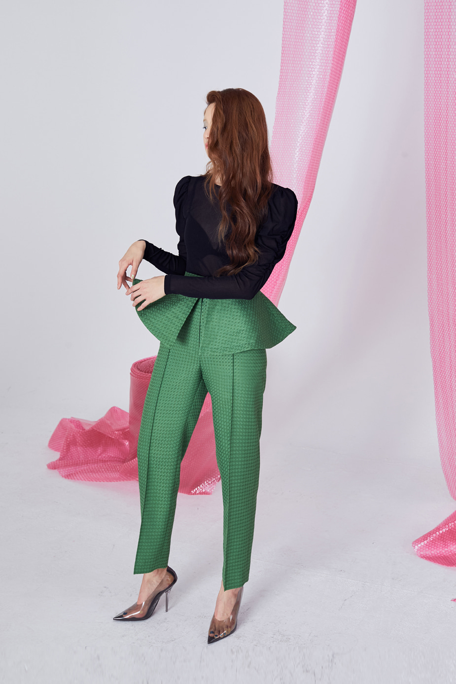 Boutique Pants(GREEN)